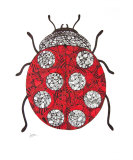 Ladybug Giclee Print by Leanne Karlstrom