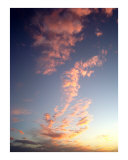 Pink Sunset One Photographic Print by A Villaronga