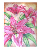 Lilies to Say We Love You Giclee Print by Ira McCully