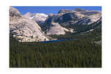 View of the Tenaya Lake Yosemite National Park Photographic Print by George Oze