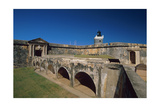 Main Gate of Fort San Felipe del Morro Photographic Print by George Oze