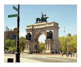 Grand Army Plaza, Brooklyn - New York Photographic Print by  Dw Labs