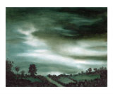Predawn - Monochromatic Landscape Giclee Print by Lucinda Knowlton