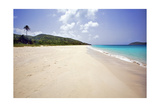 Sand and Water Zoni Beach Culebra Puerto Rico Photographic Print by George Oze