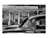 Black Car Photographic Print by Andrew Fare