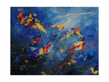 Abstract 971207 Giclee Print by  Ledent