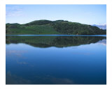 Reflections on a Norwegian Lake Photographic Print by Jeanne Apelseth