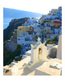 Oia Santorini Photographic Print by Daniel Berkeland
