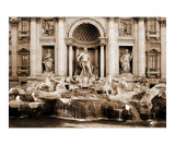 The Trevi Fountain, Rome, Italy Photographic Print by vincent abbey