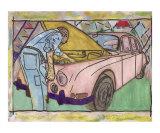 The Mechanic Giclee Print by Wa Cow