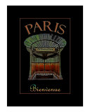 Paris Bienvenue Photographic Print by Andrew Fare