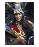 Aztec Beauty Photographic Print by Jeanne Apelseth