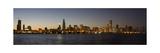 Chicago Skyline Panorama Impressão fotográfica por Steve Gadomski