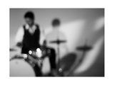 Drummer 1 BW Photographic Print by John Gusky