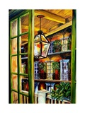 View from a French Quarter Balcony Giclee Print by Diane Millsap