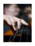 Bassist 1 Reproduction photographique par John Gusky