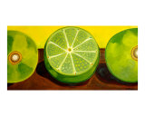 Key Limes Giclee Print by Anna Roselli