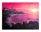 Sunset over Cape Elizabeth Giclee Print by Nate Walsh