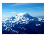 Mount Rainier Photographic Print by Teo Alfonso