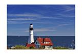 Portland Head Lighthouse Cape Elizabeth Maine Impressão fotográfica por George Oze