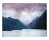 Fjord Giclée-Druck von Philip Smeeton