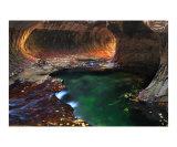 Emerald Water Photographic Print by Judit Fabian