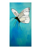Butterfly Giclee Print by Anna Roselli