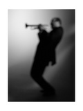 Trumpeter 1 BW Photographic Print by John Gusky