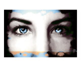 Deep Blue Eyes Photographic Print by Holly Sugrue