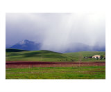 Farmland in Winter Number Two Photographic Print by Lorrie Morrison