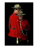 Painted Mounties Photographie par Andrew Fare
