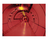 Red Tube Photographic Print by Vladimir Bridan