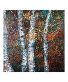 Autumn Birch Giclee Print by Nadine Rippelmeyer