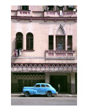 Blue Car Photographic Print by Andrew Fare