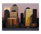 World Financial Center at Sunset Photographic Print by John Poulos