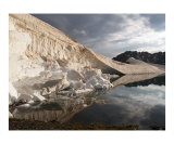 Gray Sky Over White Ice Photographic Print by Tal Naveh