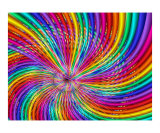 Rainbow Swirl Photographic Print by Vicky Brago-Mitchell