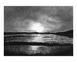 Sunset in Charcoal Giclee Print by Lucinda Knowlton