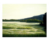 Morning by Lakeside Giclee Print by Tenzin Tamding