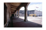 Courtyard of Fort San Cristobal Old San Juan Photographic Print by George Oze