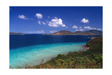 Waterlemon Bay Panorama St John Virgin Islands Photographic Print by George Oze