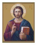 Jesus Christ Pantocrator Giclee Print by Svitozar Nenyuk