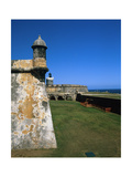 Towers of El Morro Fort Old San Juan Puerto Rico Photographic Print by George Oze