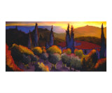 Casa Cares Sunset Giclee Print by Daniel Berkeland