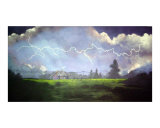 Texas Storm Giclee Print by Barbara Kelley
