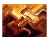 Red Curve 2 Photographic Print by Vicky Brago-Mitchell