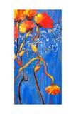 Bloomtime Four Arte por Ruth Palmer