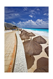 Mayan Riviera at Cancun Mexico Photographic Print by George Oze