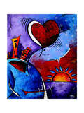 City In Motion Giclee Print by Megan Aroon Duncanson