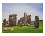 Stonehenge Giclee Print by Janay Meadors